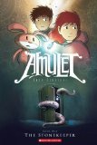 Amulet is a graphic novel that may appeal to otherwise reluctant readers