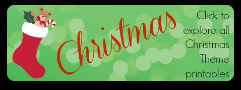Storytime Standouts Christmas Theme Printables