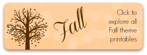 Storytime Standouts Fall Theme Printables