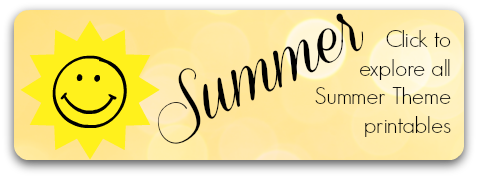 Click to explore all Summer Theme Early Learning Printables for Homeschool, Preschool and Kindergarten