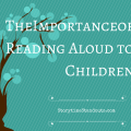 The importance of reading aloud to children - even once they read independently