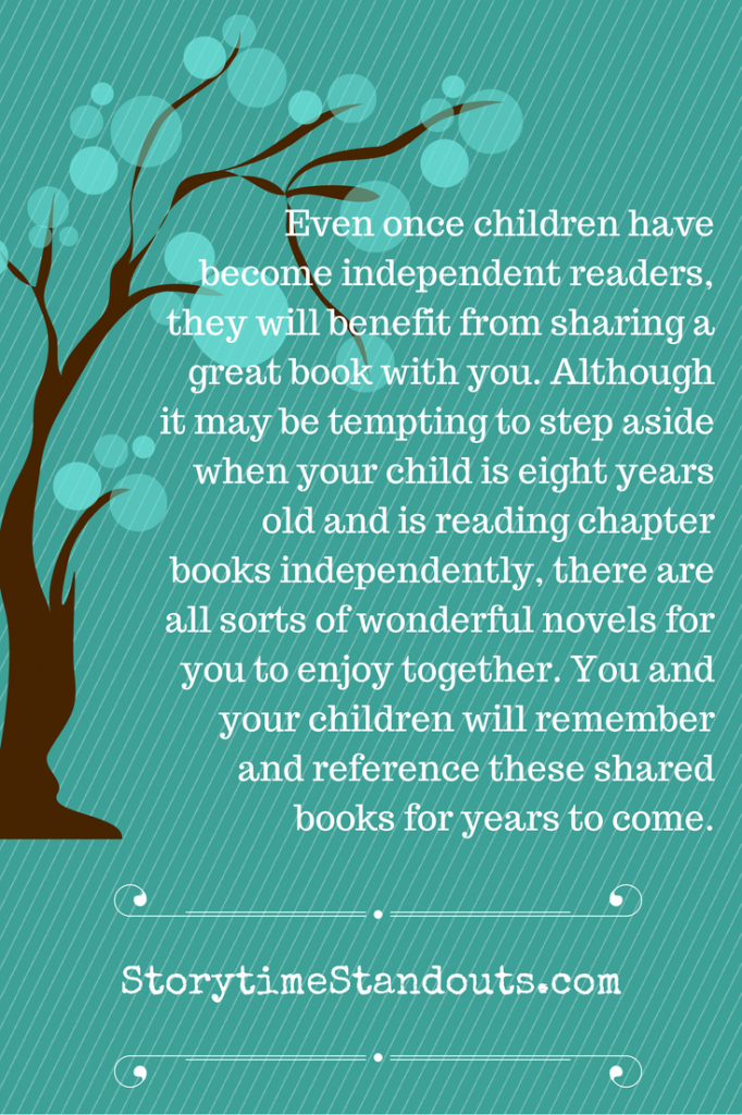 The Importance of Reading Aloud to Children - Keep Reading Even Once Children Are Able to Read Independently