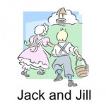 image of Jack and Jill nursery rhyme printable