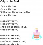 Jelly in the Bowl.Free Printable from Storytime Standouts