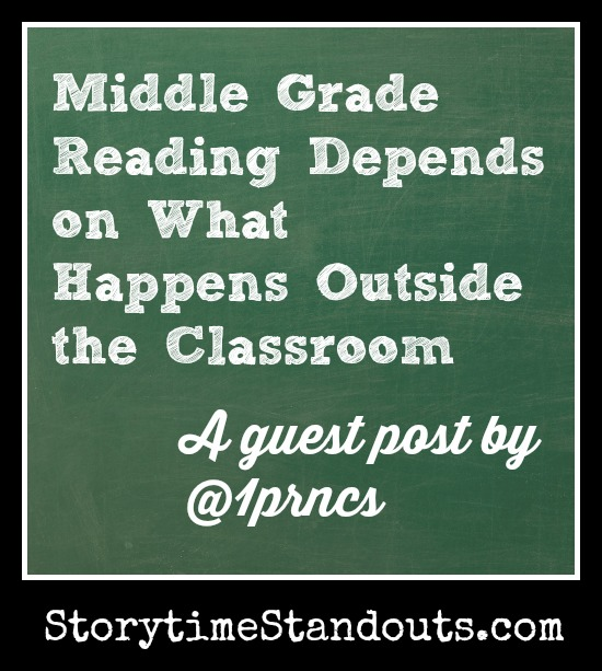 Middle Grade Reading, connecting school and home