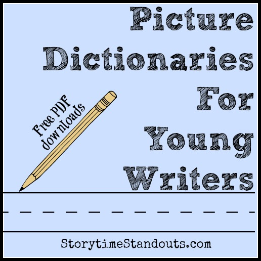 25 Free Printable Picture Dictionary and Sight Word PDFs for