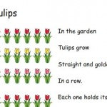 image of Spring fingerplays printable