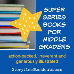 Recommended series books for middle grade readers