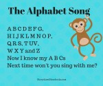 The Alphabet Song, free printable