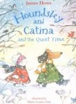 image of cover art for Houndsley and Catina and the Quiet Time, an early reader set on a snowy day