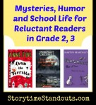 Great Chapter Books for Reluctant Readers: Mysteries, Humor, School Life