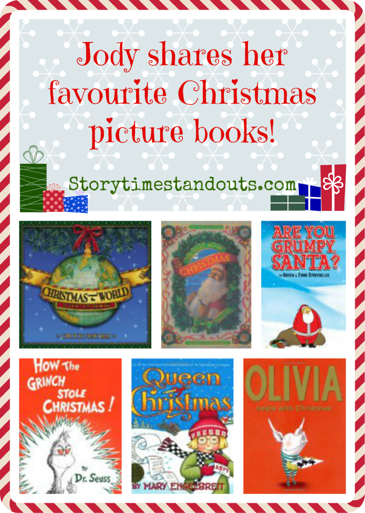Jody's Favorite Christmas Picture Books