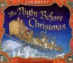 cover art for Jan Brett's The Night Before Christmas