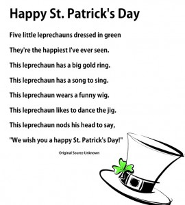 Free Happy St Patricks Day printable from Storytime Standouts
