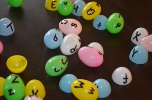 Match Upper and Lower Case Letters with this easy-to-make game