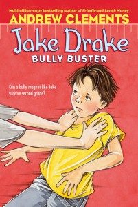 anti bullying chapter book cover Jake Drake Bully Buster