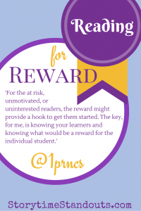 Reading for Reward by Jody Holford