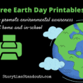 Free Earth Day Printables from Storytime Standouts