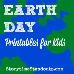 Storytime Standouts Free Earth Day Printables for Kids