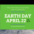Storytime Standouts shares free Earth Day printables for home and classroom