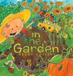 Storytime Standouts Gardening page includes free early learning printables and In the Garden by Peggy Collins