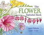 The Flower Alphabet Book written by Jerry Pallotta, a gardening theme picture book