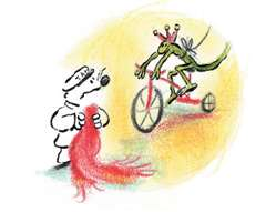 The Red Scarf, Award Winning Wordless Picture Book