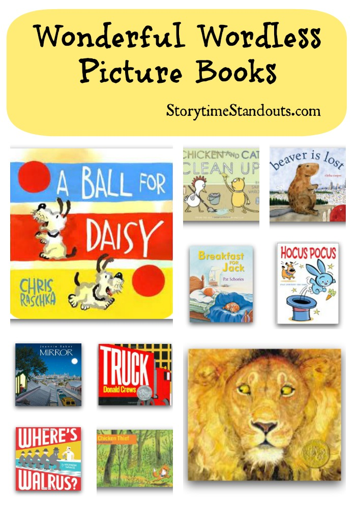 Storytime Standouts introduces a selection of wonderful wordless picture books