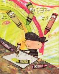 Budding artists will love this picture book