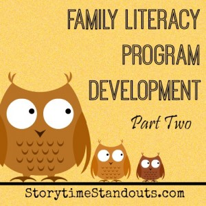 Family Literacy Program Development Part 2
