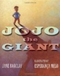 anti bullying picture book cover JoJo the Giant