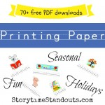 Free Writing Paper Downloads For Children from StorytimeStandouts.com
