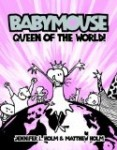 anti bullying graphic novel cover Babymouse Queen of the World