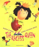 image of book cover for rhyming picture book The Recess Queen