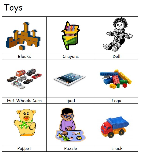 image of Vocabulary Development resource for a speech delayed child