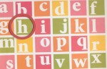 image of an alphabet learning activity