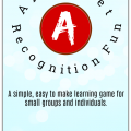 Storytime Standouts shares an easy to make alphabet recogntion learning game.