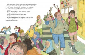 image of Bully spread an anti bullying picture book for older readers
