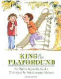 cover art for antibullying picture book King of the Playground