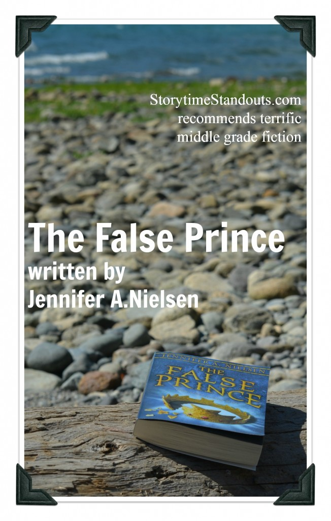 The False Prince by Jennifer A Nielsen - terrific middle grade fiction