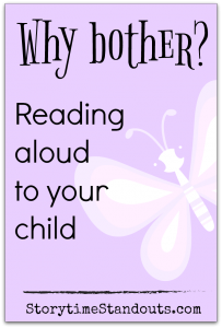 Our guest contributor shares great reasons to read aloud to children
