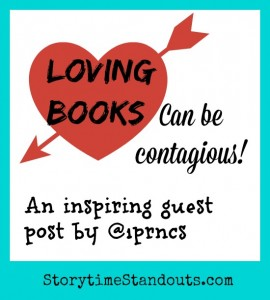 Loving Books Can Be Contagious, our guest contributor writes about Reading Power by Adrienne Gear