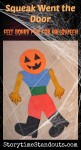 Halloween flannel board story for preschool and kindergarten