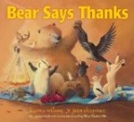 Bear Says Thanks picture book about generosity and gratitude