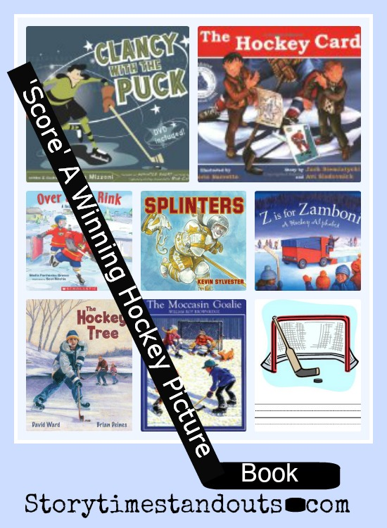 Storytime Standouts shares ice hockey-theme picture books for preschool and kindergarten