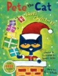 Storytime Standouts recommends celebrating the holidays with Pete the Cat Saves Christmas picture book