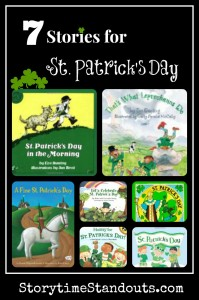 Storytime Standouts shares Seven Special St. Patrick's Day Picture Books for Children