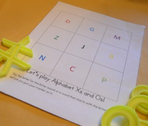 Playing Tic Tac Toe with a Speech-Delayed Child