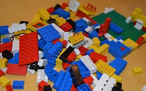 Using Lego to support a child with delayed speech