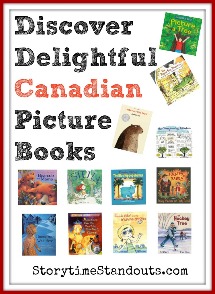 Storytime Standouts Looks at Wonderful Canadian Picture Books